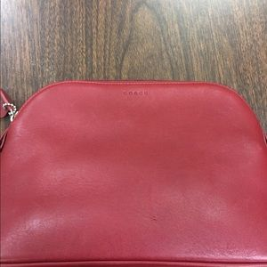 Ladies Leather Coach Make-Up Bag!!!